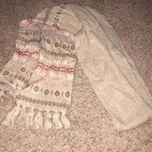 Adult sweater scarf